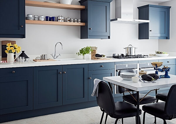 02 JLH Shaker Layon Kitchen_Blake Blue_priced from £25k inc. vat