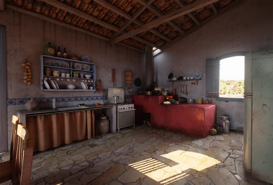 Kitchens From Around The World The Kitchen Think